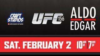 UFC 156 José Aldo X Frankie Edgar