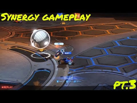 Rocket League | Synergy gameplay with I'm Jeff pt. 3