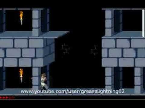 скоростное прохождение prince of persia 1