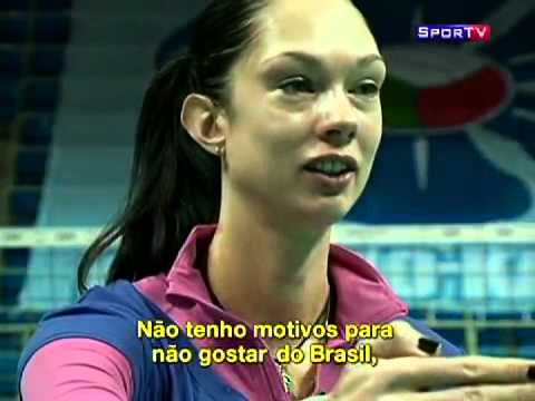 Da série a nova Rússia: Gamova, a melhor jogadora de vôlei do mundo