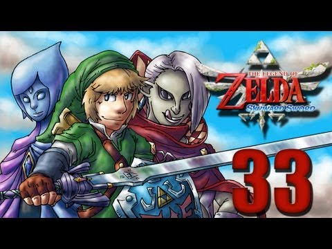 Let's Play Zelda Skyward Sword [German][Blind][#33] - Roboter-Minen!