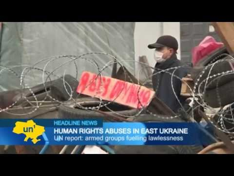 UN report: armed groups fuelling lawlessness in Ukraine