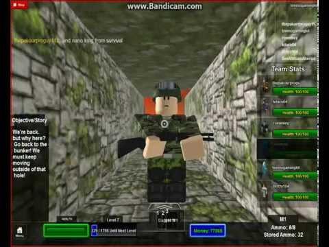Cùng chơi Roblox zombie war I undead nation I part 2 : thoát khỏi ngọn đồi câm lặng !