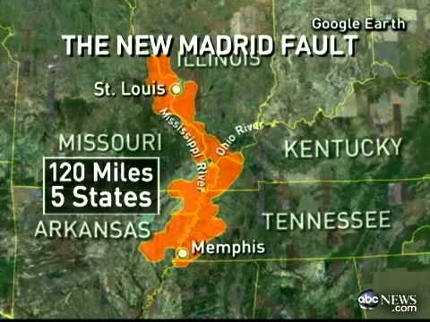 New Madrid Fault Lines