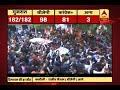 #ABPResults: BJP president Amit Shah celebrates BJPs lead in Gujarat and Himachal Pradesh