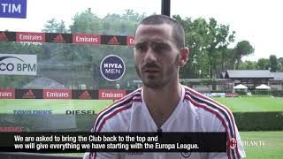 """Bonucci: """"Being captain is a huge responsibility"""""""