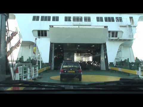 Onboard P&O Ferries