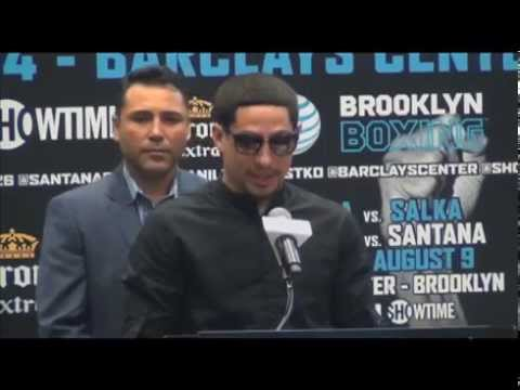Destroy and Conquer Danny Garcia vs. Rod Salka press conference