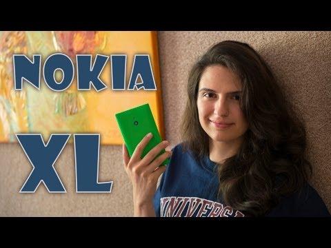 Nokia XL: обзор большого смартфона