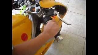 Mini Moto R1 Acelerando