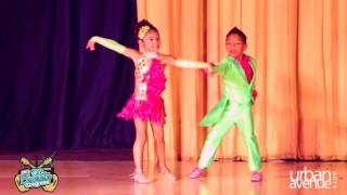Amazing 6 Year Olds Kevin and Gabby Kids of Baila Conmigo Salsa Colombia Style - DC Bachata Congress