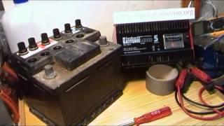 Recarga de batería de coche