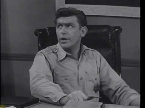 Andy Griffith Show Pilot Missing Scene