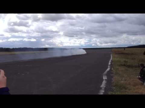 217 km/h !!! New Guinness World Record in fastest vehicle drift by Kuba Przygoński 03.09.2013
