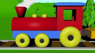 The Number Train Learning For Kids