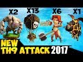 Valkyrie Balloon GoVaLaLoon NEW TH9 STRONG WAR ATTACK STRATEGY 2017 Updated Clash of Clans