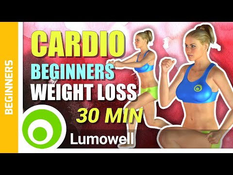 30 Minute Aerobic Workout for Beginners - Weight Loss Exercises at Home