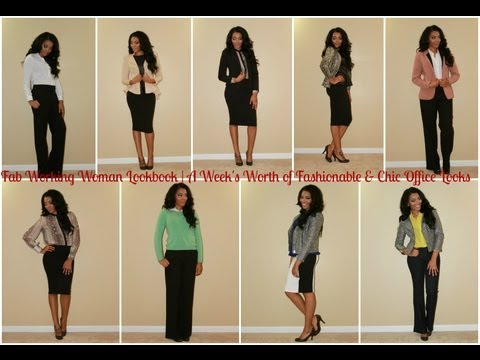 Fab Working Woman Lookbook | A Week Of Fashionable & Chic Office Looks