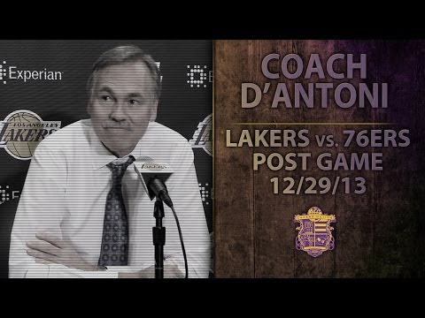 Lakers vs. 76ers: Coach D'Antoni On Kendall Marshall, Ryan Kelly, Xavier Henry's Knee Injury