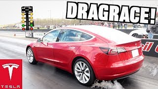 I Set the Tesla Model 3 1/4 Mile Record at StreetSpeed717 Callout!!