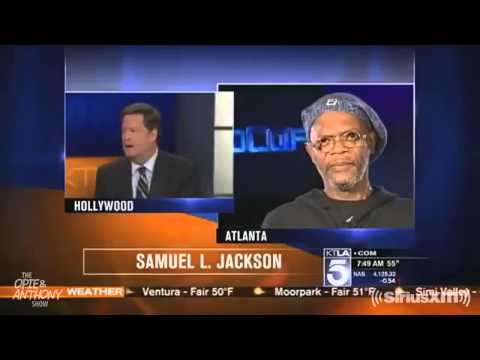 Reporter Mistakes Samuel L. Jackson for Laurence Fishburne - The Opie & Anthony Show