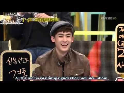 [Vietsub-KV] Strong Heart Nichkhun Cut - Talk about Khuntoria