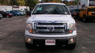 2013 FORD F150 SUPERCAB XLT REVIEW 4X4 CHROME PKG BACKUP CAMERA  WWW.NHCARMAN.COM.MOD videos
