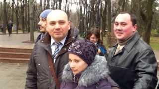 Moldoveni activi, solidari cu ucrainenii protestatari