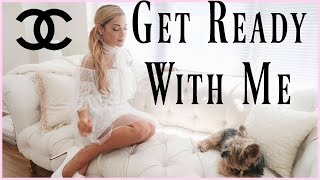 GET READY WITH ME! Makeup, Hair, Outfit | As a Princess