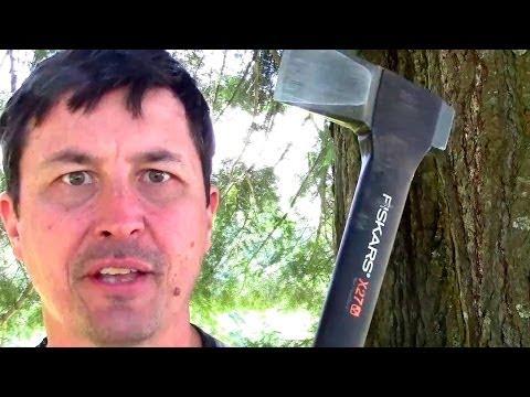 Fiskars X27 Axe VS Traditional Splitting Maul