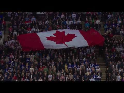 HNIC - Sens vs Leafs - Military Night - Feb 19th 2011 (HD)
