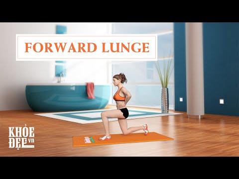 Làm sao có vòng 3 to của Elly Trần: Bài tập mông #7 Forward Lunge