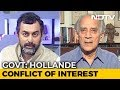 """""""Hollande Claim Latest In Chain Of Events That Point To Feku Government"""": Arun Shourie"""