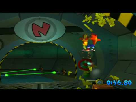 Crash Bandicoot: The Wrath of Cortex - Level 10: H2 Oh No (Platinum Relic)