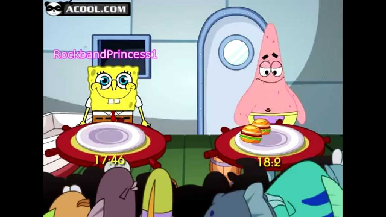 spongebob online