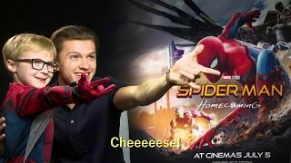 Mini Spider-Man meets Tom Holland & Zendaya - OFFICIAL Marvel | HD