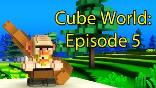 Cube World: Ep 5 with Cox n Crendor (ACTUAL FOOTAGE THIS TIME!!!)