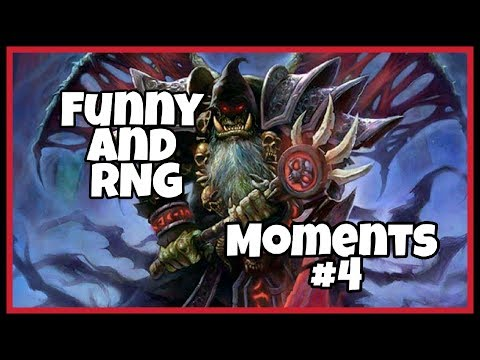 Hearthstone - Funny and RNG Moments #4