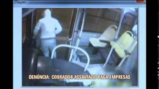Cobradores s�o obrigados a pagar preju�zo de assaltos a �nibus em Juiz de Fora
