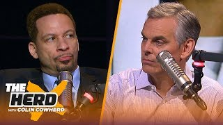 Kevin Durant has yet to prove he's a better player than LeBron - Chris Broussard | NBA | THE HERD