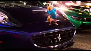 Alvin a Chipmunkovia: �ipern� jazda - trailer na film