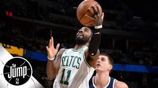 Do these shots prove Kyrie Irving is most creative finisher in NBA? | The Jump