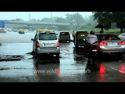 Delhi waterlogged again