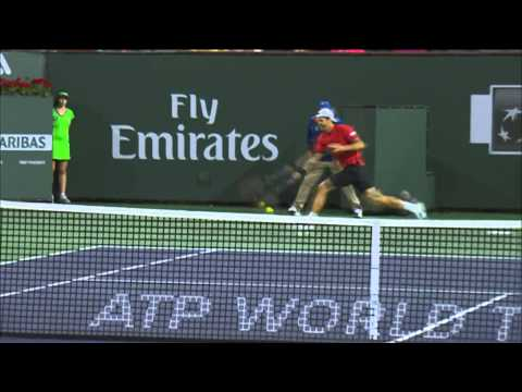 Indian Wells 2014 Wednesday Hot Shot Haas