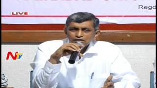 Jayaprakash Narayana 'meet the press' on GHMC campaign