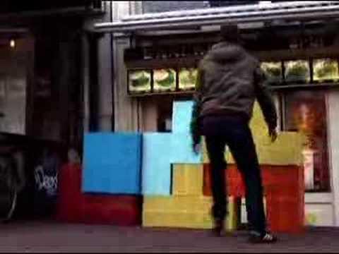 Real life Tetris!