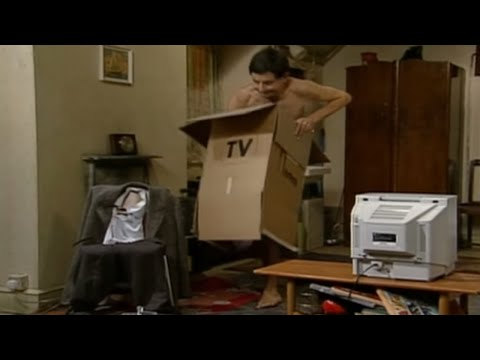Mr Bean - TV Aerial -- Mr Bean - Fernsehausstrahlung, Mr Bean -