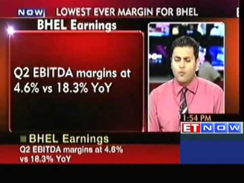 BHEL Q2 net falls 64 per cent to Rs. 456 crore