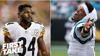 Super Bowl LIII more likely for Panthers or Steelers? | First Take