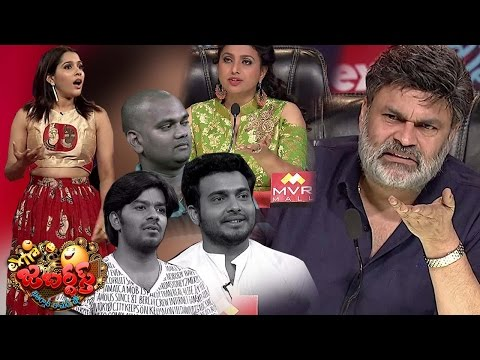 Nagababu  Roja Fires on Sudigali Sudheer Team  Extra Jabardasth  31st March 2017 Promo